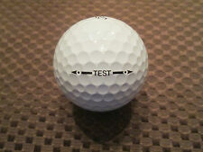 LOGO GOLF BALL-TITLEIST TEST BALL.....PROV1 BALL.......RARE...