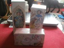 Avon Perfume Bottle Vintage Antique Collectible Doll Little Girl Blue Cotillion