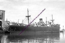 mc1475 - Turkish Cargo Ship - Aydin , built 1942 - photo 6x4