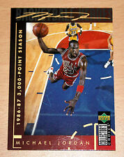 Michael Jordan 1994 Collector Choice 3000 POINT SEASON GOLD SIGNATURE CARD