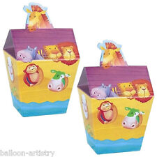 24 Noah's Ark Baby Shower Gift Loot Party Favour Pails Boxes