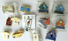Olympic pin collection 13 pcs with 1996 Atlanta games souvenir pinbacks