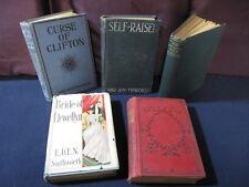 Southworth: Ishmael, Self-Raised, Bride's Fate, Llewellyn, Clifton - Vintage