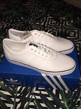 New Mens ADIDAS Adi-Ease Size 12 White Skateboarding