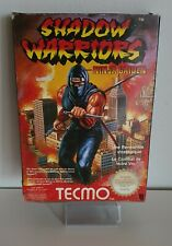 Nintendo NES * SHADOW WARRIORS - Ninja Gaiden *  komplett CiB OVP+Anl.  A7338