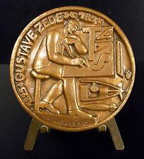 Médaille Gustave Zédé sous-marin torpilleur Gymnote 1888 submarine destroyer