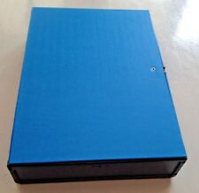 A4 Box File Files Filing Blue by Q Connect Storage Documents
