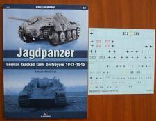 *JAGDPANZER. German tracked tank destroyers 1943-1945 - Kagero + decals !!