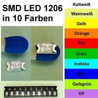 50 x SMD LED Bauart 0805   grün green