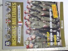 14µ?  Fascicule seul Insignes Militaires France n°46 17e RGP Roquejeoffre Bosnie