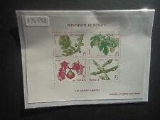 Monaco 1983 Seasons Of The Fig (M/S) (SG M/S 1644) MNH