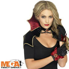 Vampire Kit Ladies Fancy Dress Sexy Vamp Adults Halloween Costume Accessory