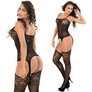Romantic Sexy Lingerie Sleepwear dress Underwear Lace G-string Nightwear 9801