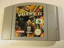 Nintendo 64 N64 juego Quake ll (dos) NUS-NQ2P-EUR PAL NUS-006 EUR
