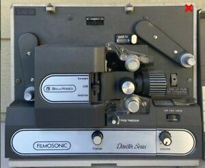 "Vintage BELL & HOWELL FILMOSONIC ""Director Series"" Projector 1734B"