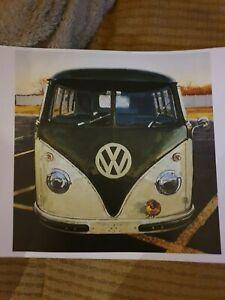 vw camper van prints paintings - various prints framed / unframed