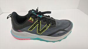 New Balance DynaSoft Nitrel V4 Trail Running Shoes, Grey, Women's 8.5 Wide