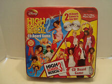 High School Musical 2 & 3 CD Board Disney Channel #6821 Cardinal Industries NIB!