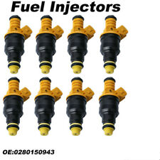 Set of 8 Flow Matched Fuel Injectors for 1985-1992 Ford 4.6 5.0 5.4 5.8 Replaces
