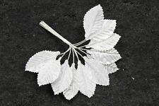 36 feuilles blanche en tissus.  Décoration de mariage