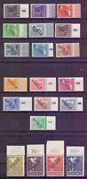 Berlin 1948 - Schwarzaufdruck - MiNr.1/20 Rand geprüft - Michel 2.275,00 € (530)