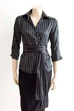 Zara Polyester Striped Tops for Women