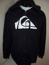 QUIKSILVER Large L hooded Sweatshirt Combine ship w/Ebay cart