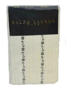 1 RALPH LAUREN West Village Anella Cream Euro Pillowcase / Pillow Sham NEW
