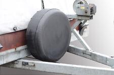 Ersatzradhülle Abdeckung Schwarze Reifenplane 72x28cm Trailer Pferde Transporter
