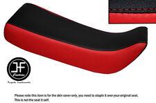 Vinilo Negro y Rojo Personalizado SE AJUSTA a HONDA Xr 100 R 85-97 Doble Cubierta de asiento solamente