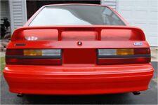 "1979-1993 Unpainted Ford Mustang Hatchback ""Cobra Style"" 4Post Pedestal Spoiler"