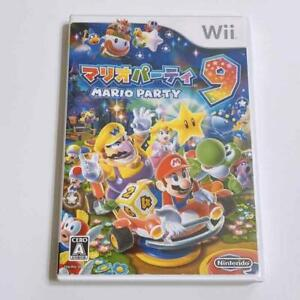 Wii Mario Party 9 Video Games soft Nintendo Japan Import