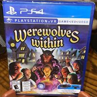 Werewolves Within VR PS4 (PlayStation 4) (PSVR Required) Brand New