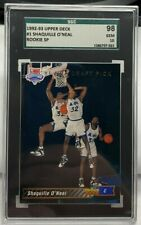 Shaquille O'Neal 1992-93 Upper Deck Rookie SP RC #1 - SGC 98 GEM 10 - POP 4 !!!