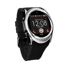 Burg 12 Bluetooth Smart Watch Phone Black with FM Radio & Expandable Storage