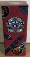 VHTF CHIVAS REGAL 12 Y.O LIMITED EDITION TIN CASE BY GLOBE TROTTER 'NO ALCOHOL'