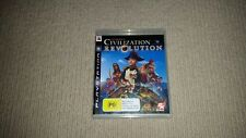 Civilization Revolution Sony Playstation 3 Game PS3 Sid Meier's