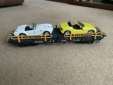 LGB 4059 Car / Auto Transport Wagon G Scale & Revell BMW Z1 & Cobra Diecast 1:24