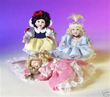Marie Osmond Disney Tiny Tot Trio Snow White Cinderella Sleeping Beauty Coa Box