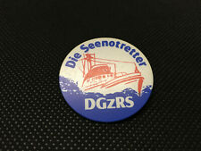 alter Anstecker Pin Button - DGzRS - Die Seenotretter
