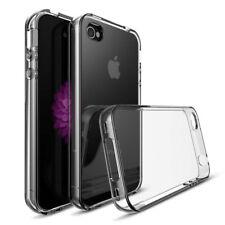 For Apple iPhone 4/4S Case Clear Slim Transparent Soft Gel TPU Bumper Cover Skin