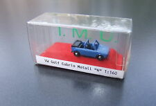 Golf Cabrio 1:160 Spur N  OVP/Box IMU Metall  .  #4466