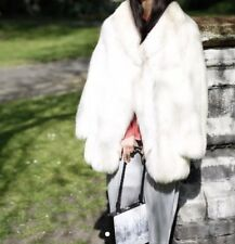 ARCTIC Silver Fox Abrigo de piel