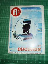 Rare ARCANO 2 A2 GRAFFITI Magazine W/ POSTER ITALY 2000 Graf Zine Can Control 13