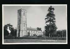 Somerset WEST MONKTON Church c1930/50s? RP PPC by H H Hole
