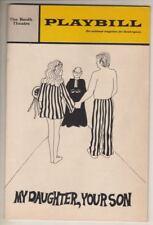 """""""My Daughter, Your Son""""  Playbill Broadway 1969  Robert Alda, Vivian Vance"""