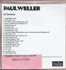 paul weller 22 dreams cd limited edition