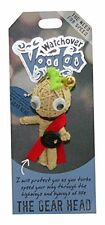 """Watchover VOODOO DOLL Keychain, THE GEAR HEAD, The Need For Speed, 3"""" Tall"""