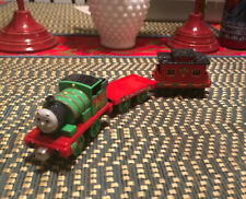 Thomas the Train Holiday Percy Learning Curve Magnetic Christmas Train Car Set