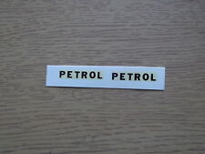 Dinky 25d Petrol Tanker Decals/Transfers